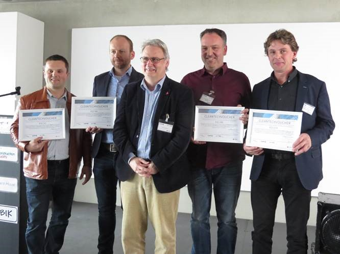 Cleantech vouchers, de winnaars