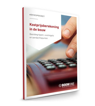 Cover Pocket Kostprijsberekening in de bouw